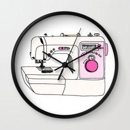 My Sewing Machine Wall Clock
