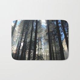 Sunlight Shines Through the Trees Bath Mat