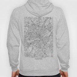 Nantes Map White Hoody