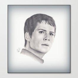 Dylan O'Brien Canvas Print