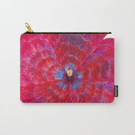 Hibiscus Flower Power Carry-All Pouch