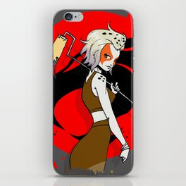 Roller Cheetara iPhone Skin