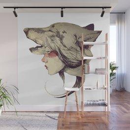 She Wolf Wall Mural