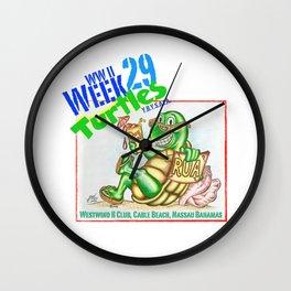 Week 29 Turtle Wall Clock