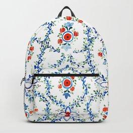 Thai Tile Pattern Backpack