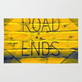 The Road Ends Rug