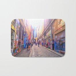 Alleyways of Melbourne, Australia Bath Mat