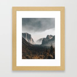Tunnel View Framed Art Print