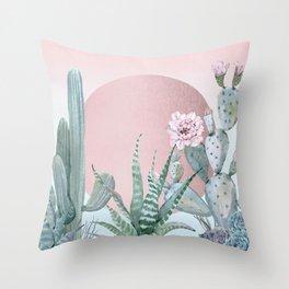 Desert Sunset by Nature Magick Throw Pillow