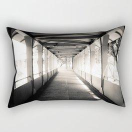 Bridging Lines Rectangular Pillow