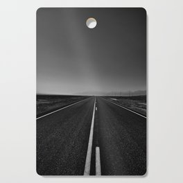 The lonely road. A journey along highway 376. Cutting Board