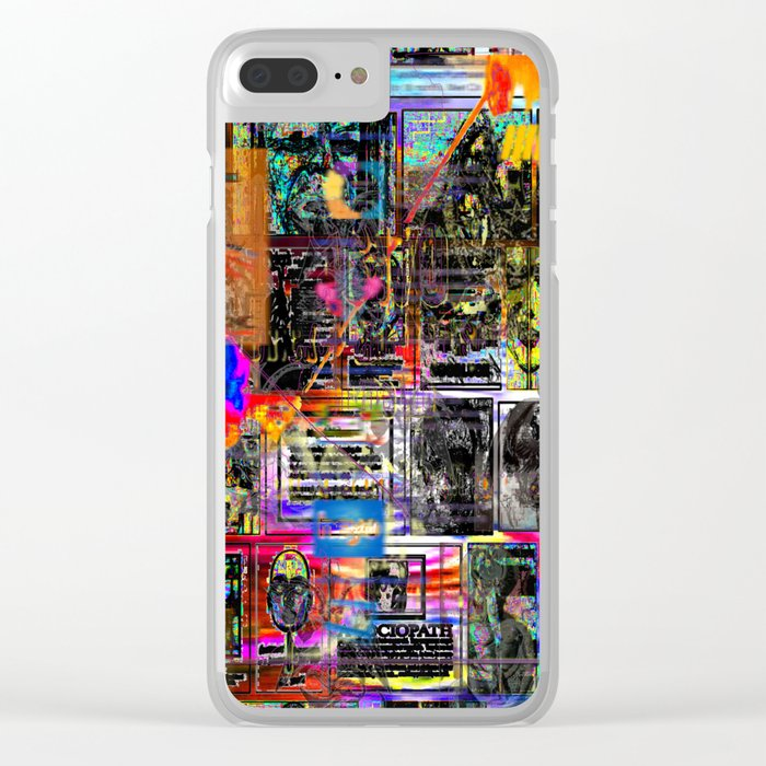 I Got The 1970s Dystopia Nostalgic Blues Clear iPhone Case