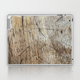 Scratched Wood Laptop & iPad Skin