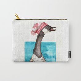 Canada Goose in a Canada Toque Carry-All Pouch