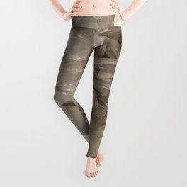 Crystal Structure Leggings