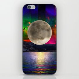 You Are My Moon iPhone Skin