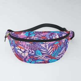 Colorful floral pattern 2 Fanny Pack