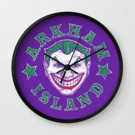 Arkham Island Wall Clock