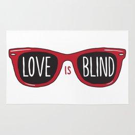 Love Is Blind Rug