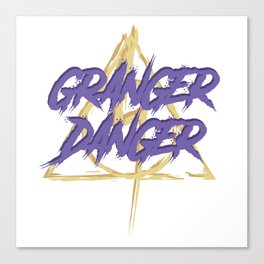 Granger Danger Canvas Print