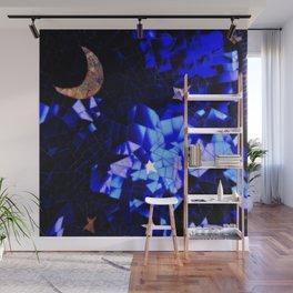 Cosmic Love Vibes Wall Mural