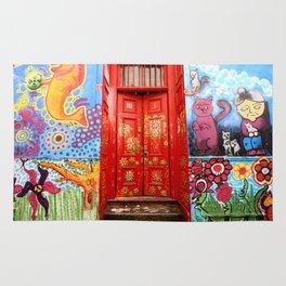 Red Door Rug