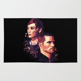 Facets of Shepard Rug