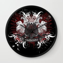 Cullenite Crest (on dark background) Wall Clock