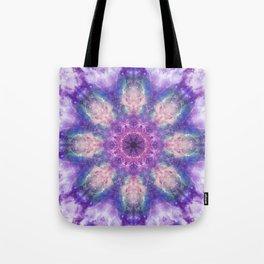 Deep Space Mandala Tote Bag