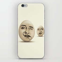 DALI #EGGS iPhone Skin
