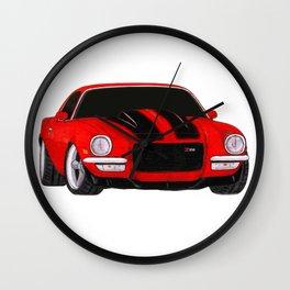 1972 Camaro Wall Clock