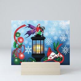 Snowflake Fairy Mini Art Print