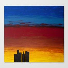 City Morning Canvas Print