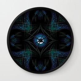 energy moon Wall Clock