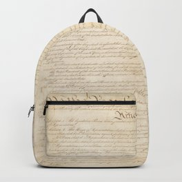 Constitution of the United States Backpack