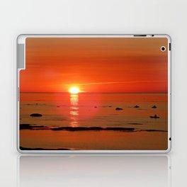 Kayaker and the Setting Sun Laptop & iPad Skin
