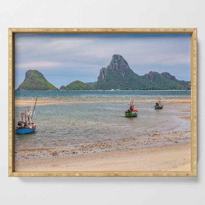 Three Boats Thailand Serving Tray