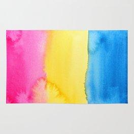 Pansexual Flag Rug