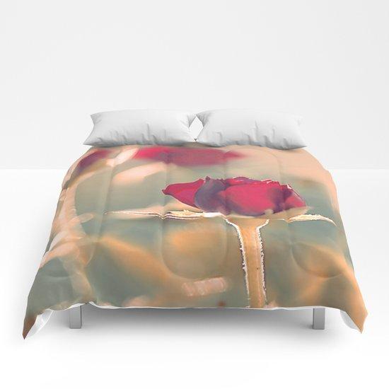Romantic rose(4) Comforters