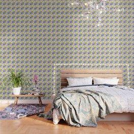 Floral Cameo Wallpaper