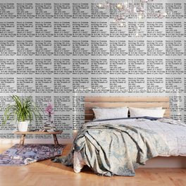 What if you fly? Vintage typewritten Wallpaper