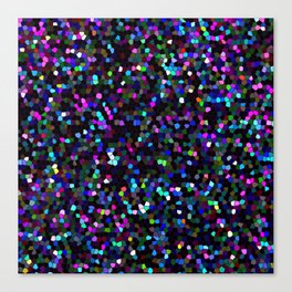 Mosaic Glitter Texture G45 Canvas Print