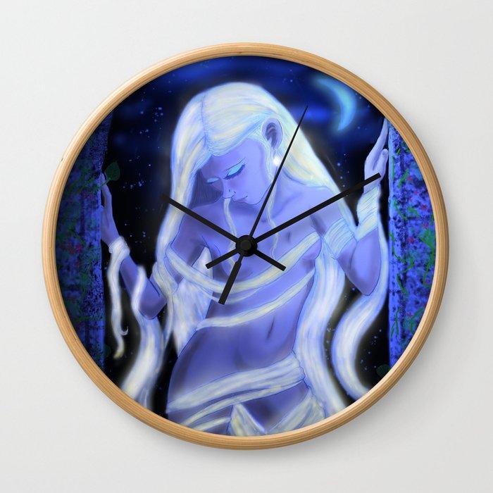 "Ayla ""Moonlight"" Wall Clock"