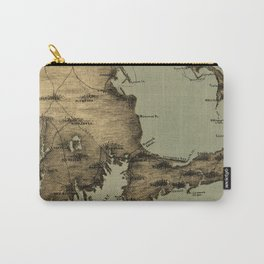 Map of Nantucket Boston 1885 Carry-All Pouch