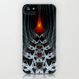 Fractal Art by Sven Fauth - Path to hell iPhone Case