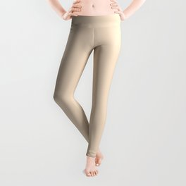 Delicate apricot, Yellow and pink Leggings