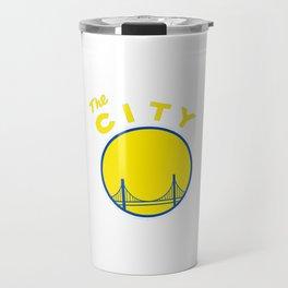 Golden State Retro Travel Mug