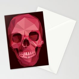 Music Skull Stationery Cards
