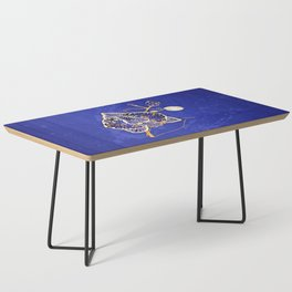 Egyptian Blue :: Orchid Coffee Table