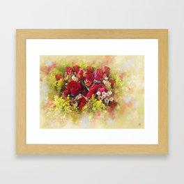 flowers9 Framed Art Print